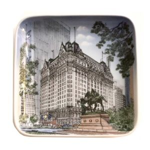 Vintage Bing & Grondahl The Plaza NYC Square Plate